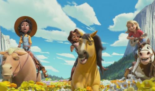 Вдвоём с конём (версия Абигейл)